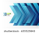 techno arrow background  vector ...   Shutterstock .eps vector #655525843