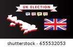vector illustration of british... | Shutterstock .eps vector #655532053