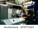 automated drilling machines | Shutterstock . vector #655573267