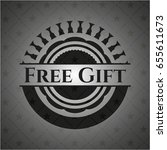 free gift dark badge