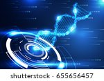 abstract technology science... | Shutterstock .eps vector #655656457