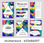 abstract vector layout... | Shutterstock .eps vector #655686097