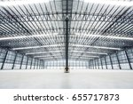 empty warehouses | Shutterstock . vector #655717873