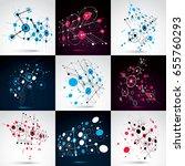 set of vector bauhaus abstract... | Shutterstock .eps vector #655760293