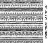 ethnic seamless pattern.... | Shutterstock . vector #655784287