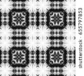 black and white pattern for... | Shutterstock . vector #655797853