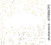 gold glitter background polka... | Shutterstock .eps vector #655886293