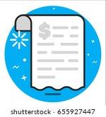 document icon | Shutterstock .eps vector #655927447