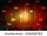 2d digital abstract business... | Shutterstock . vector #656008783