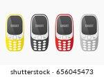 mobile phones | Shutterstock .eps vector #656045473