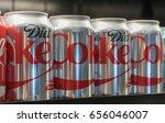 new york city  circa 2017  diet ... | Shutterstock . vector #656046007