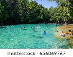 krabi thailand february 20 2016 ...   Shutterstock . vector #656069767