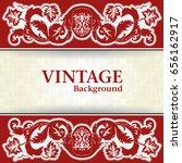 vintage background  | Shutterstock .eps vector #656162917