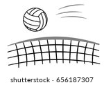 Sport Ball Volleyball With Net