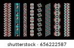 african ethnic print. the aztec ... | Shutterstock .eps vector #656222587