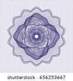 blue passport style rossete   Shutterstock .eps vector #656253667
