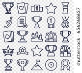 winner icons set. set of 25... | Shutterstock .eps vector #656268637