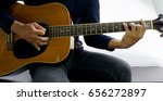 Small photo of How to play a guitar chord (C#)