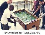people playing enjoying... | Shutterstock . vector #656288797