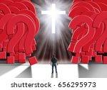 man standing in front of...   Shutterstock . vector #656295973