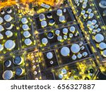 Oil Refinery Drone Photography