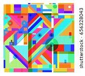trendy geometric elements
