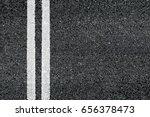 asphalt road top view background | Shutterstock . vector #656378473