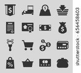 buy icons set. set of 16 buy... | Shutterstock .eps vector #656458603