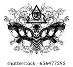 vector hand drawn illustration...   Shutterstock .eps vector #656477293