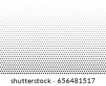 abstract halftone dotted... | Shutterstock .eps vector #656481517