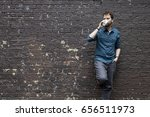 young business man having a...   Shutterstock . vector #656511973
