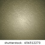 paisley seamless background... | Shutterstock .eps vector #656512273