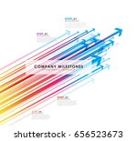 infographic template with...   Shutterstock .eps vector #656523673