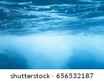 underwater shot with sun rays... | Shutterstock . vector #656532187