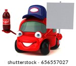 fun car   3d illustration | Shutterstock . vector #656557027