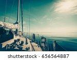Yachting Yacht Sailboat Sailin...