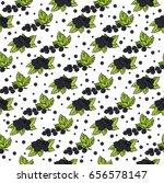seamless vector pattern. bright ... | Shutterstock .eps vector #656578147