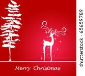 christmas background | Shutterstock .eps vector #65659789