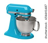 Turquoise Stand   Kitchen Mixe...