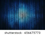 2d illustration technology...   Shutterstock . vector #656675773