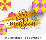 illustration sale banner sale... | Shutterstock .eps vector #656698687