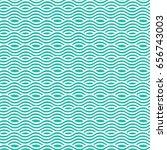 vector wavy pattern. geometric... | Shutterstock .eps vector #656743003