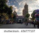 puebla  mexico   oct 16  2016 ... | Shutterstock . vector #656777137