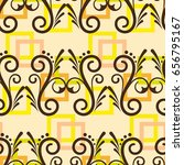 endless abstract pattern....   Shutterstock .eps vector #656795167