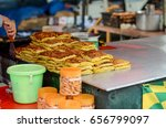 a bunch of traditional... | Shutterstock . vector #656799097