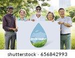 save water natural nurture... | Shutterstock . vector #656842993