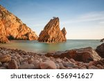Amazing Wild Rock Beach At The...