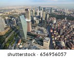 aerial view of istanbul city in ... | Shutterstock . vector #656956057