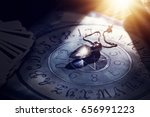 foretelling the future with... | Shutterstock . vector #656991223