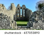 Inch Abbey In Northern Ireland...